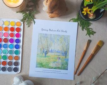 Spring Nature Art Study