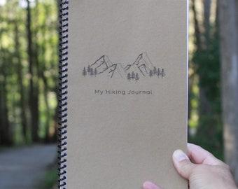 My Hiking Journal, MANUSCRIPT, Trail Notebook, Printable Hiking Log, Nature Notebook, Nature Study Journal, Printable Nature Journal
