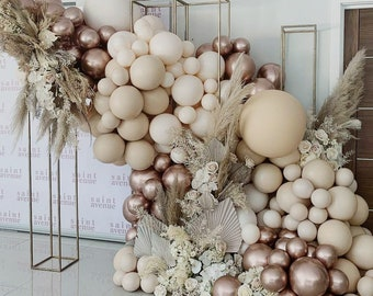 Boohoo Theme Balloon Arch garland | Retro | Natural |Boohoo| Baby Shower | Bridal Shower | Wedding