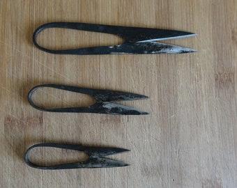 hand-forged medieval scissors - thread scissors, herbal scissors