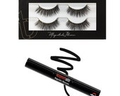 Tori Belle EPIC Illusion Line Magnetic Eye Lashes and Liner Bundle, Magnetic Eyelashes Set Liquid Eyeliner