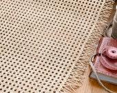 Cane webbing, rattan furniture, 45cm wide, 18 quot , rattan chair, rattan basket, custom length roll, cane chair, handmade, natural material, UK