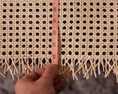 Cane webbing, rattan furniture, rattan chair, rattan basket, custom length roll, 60cm wide, cane chair, handmade, natural material, UK