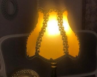 Romantic Butterflies Hexagon Bell Lamp Shade READY TO SHIP!
