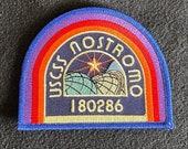 ALIEN movie USCSS Nostromo crew cap, Iron on patch!