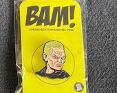 Bam Box Enamel Pin Spike from Buffy the Vanpire Slayer ONLY 500 made!