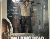 Mint Unopened 10 inch Rick Grimes Deluxe Figure from The Walking Dead AMC action figure from Series 8 Collectible TWD
