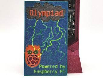 Raspberry Pi 4B + Case / Fully Assembled Home Development Lab / Olympiad Edition / Raspberry Pi 4B Case w/ Noctua Fan
