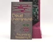 Raspberry Pi 4B + Case / Fully Assembled Home Development Lab / Cloud Underground Edition / Raspberry Pi 4B Case w/ Noctua Fan