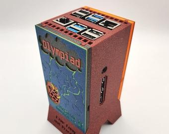 Raspberry Pi 4B Cluster / Fully Assembled Supercomputer / Olympiad Edition / Raspberry Pi 4 Case w/ Noctua Fan
