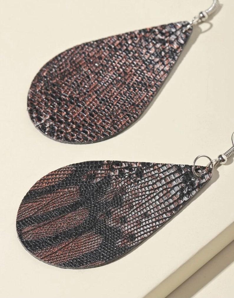 Snakeskin Earrings