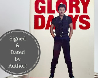 Bruce Springsteen   80's Music   Signed Biography   Rock n Roll   Glory Days by Dave Marsh   First Edition, Hardcover, with Dust Jacket