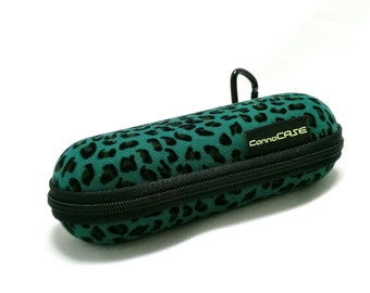 Smoke Accessory Spring Stoner Gift Flowers Padded Pipe Pouch Glass Pipe Case 7.5 x 6 X LARGE Stash Bag Floral Zipper Bag