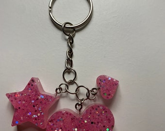 Neck circumdred Medical pale pink key fastener A