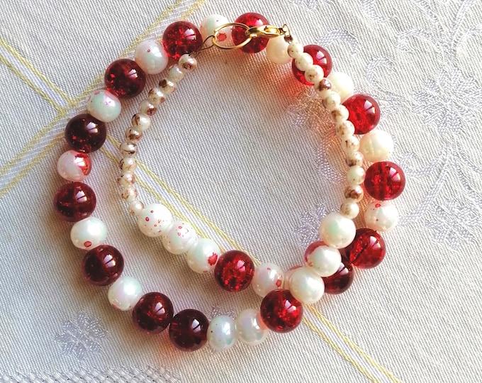 Christmas minimal necklace