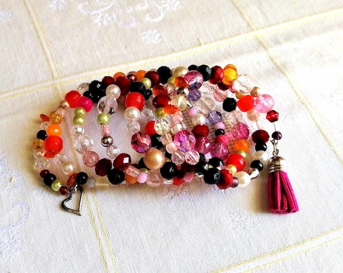 Multistrand Avant garde bracelet