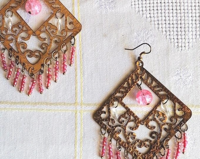 Big gypsy earrings