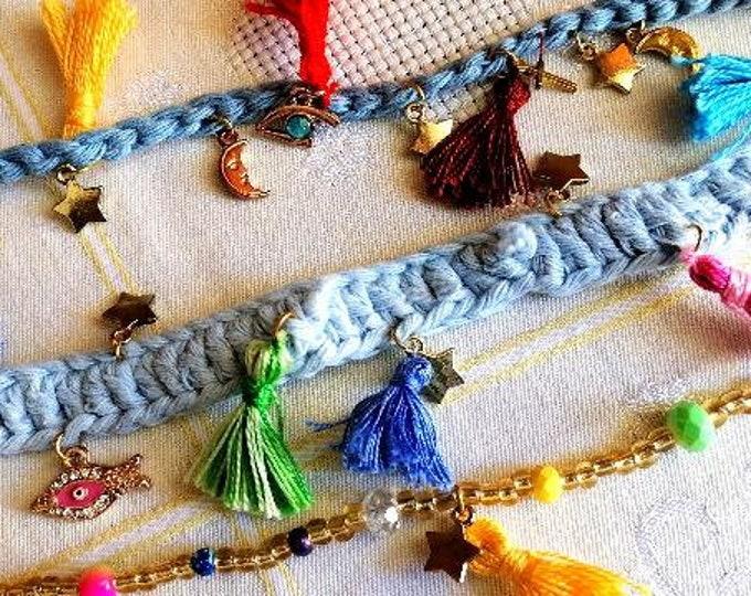 Summer charm bracelets
