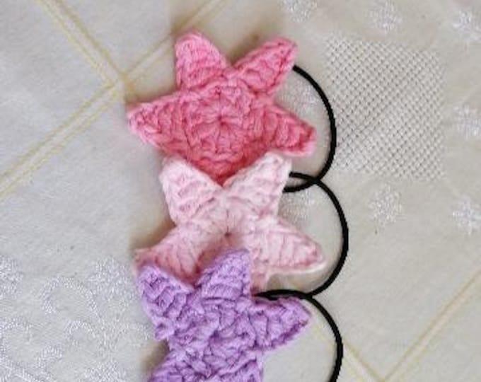 Star hair ties