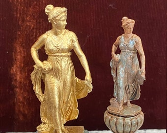 Miniature Sculpture in hand painted resin