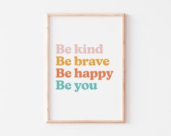 Positive Quote Print  |  Positive Children's Print  |  Positive Nursery Print  |  Kid's Quote Print  |  Kid's Affirmation Print