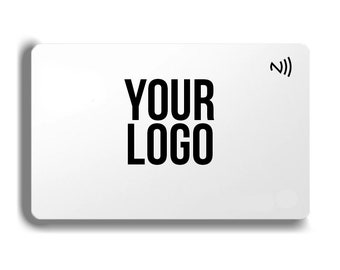 Custom Tapable NFC Digit Business Cards