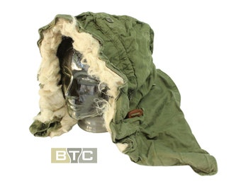 US Army M-51/M65 Cold Weather Hood for Fishtail Parka & M65 Jacket - Genuine US Issue