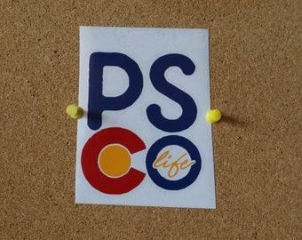 PSCO.life Vinyl Sticker - Vertical