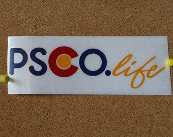 PSCO.life Vinyl Sticker - Horizontal