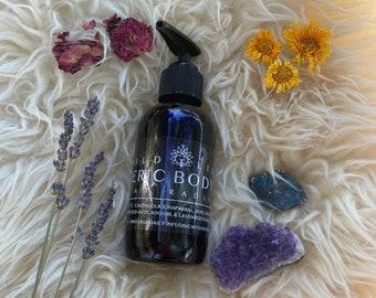 I am Radiant body oil, self love etheric shield