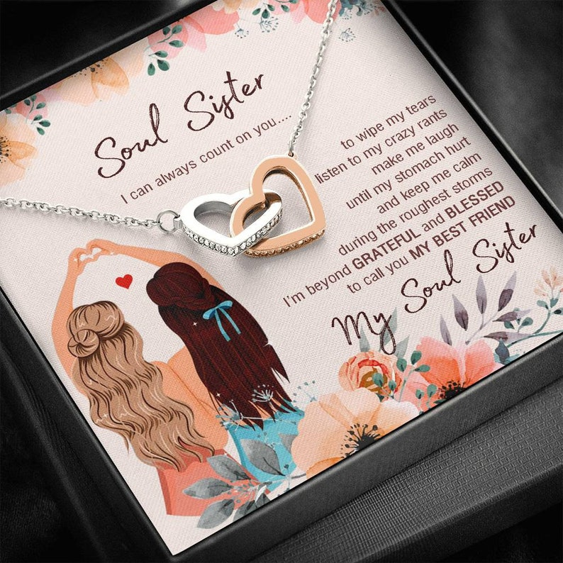 My Soul Sister Two Hearts Limited Edition Necklace