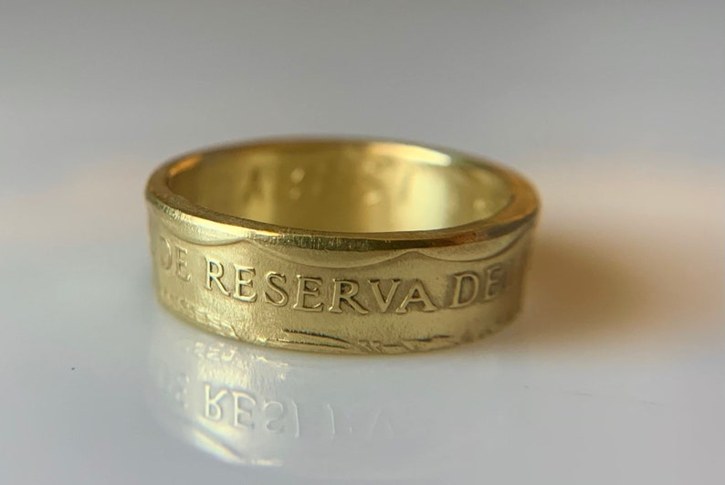Peruvian Coin Ring