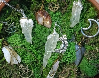 Pendulum Crystals   Divination Tools   Crystal Witch   Witchcraft   Divination Witch   Crystals   Gemstones