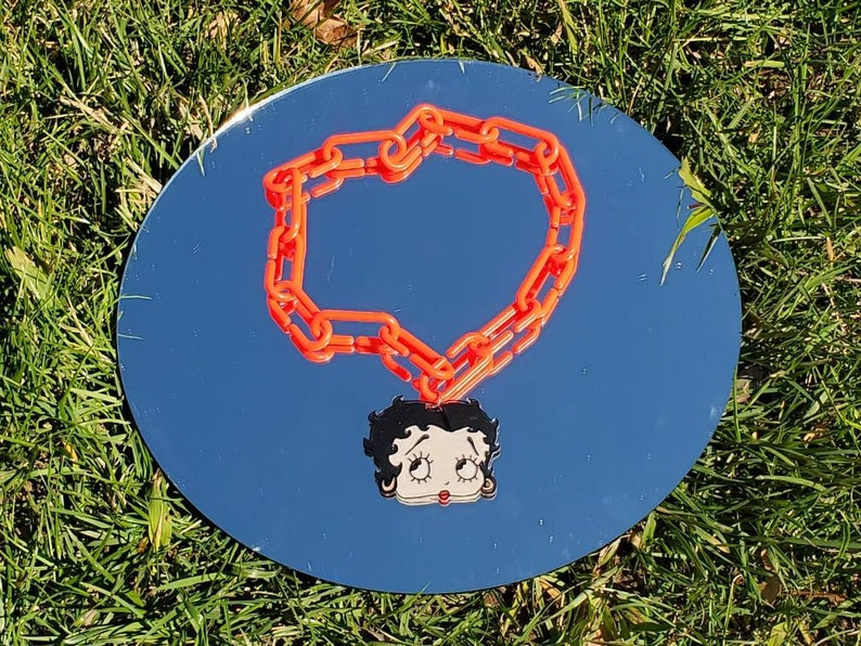Betty boop necklace