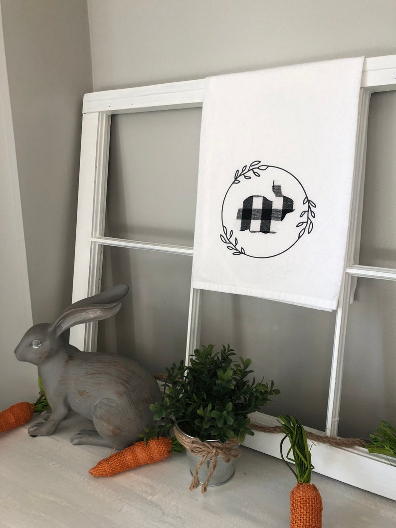 Decorative Hand Towel Spring and Easter