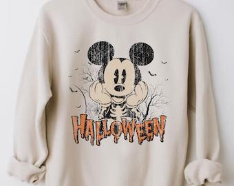 Vintage Disney Ride Shirt, Disney Halloween Retro, Disney World, Mickey Halloween, Vintage Walt Disney, Mickey Not So Scary Halloween Active