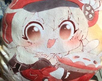 Shaped Pillowcase - Klee - Genshin Impact Unofficial Fan Merch