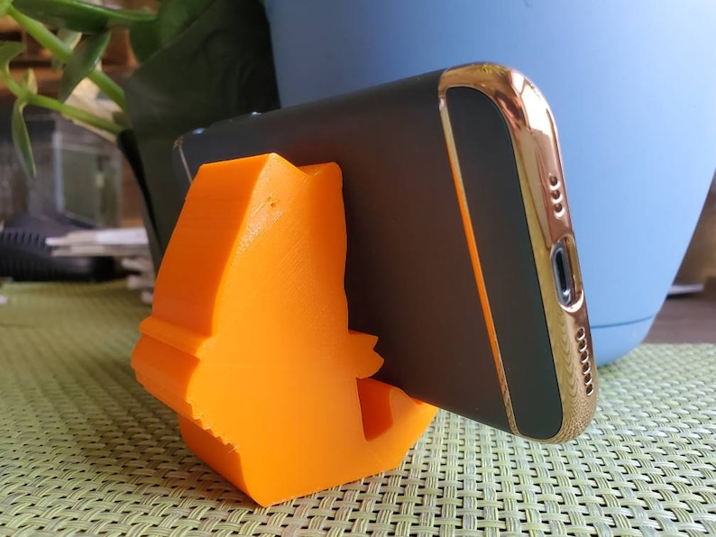 3D Printed Bass Fish Cell Phone and Tablet Holder or business card holder!