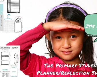 Daily Planner For Kids DIGITAL DOWNLOAD