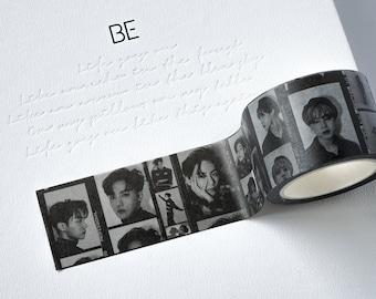 10mm x 5m Washi Tape Dark