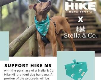 Hike Nova Scotia Branded Dog Bandana