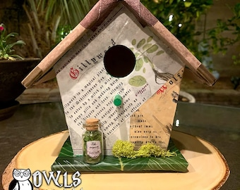 """Wizarding World Magical Birdhouse """"One Thousand Herbs and Fungi"""""""