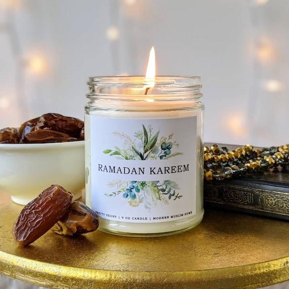 Ramadan Kareem Candle 9oz Scented Islamic Candle Ramadan