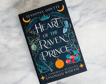 Heart of the Raven Prince (hardcover) signed