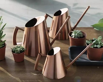 Cacti watering can mid century modern