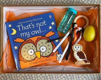 That's not my owl baby sensory box