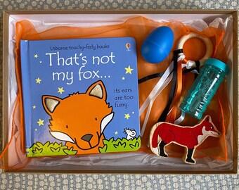 That's Not My Fox baby sensory box