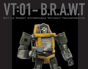 VT:01 BRAWT Custom Limited Edition Painted Figure