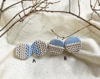 Polymer Clay Earrings Cozies
