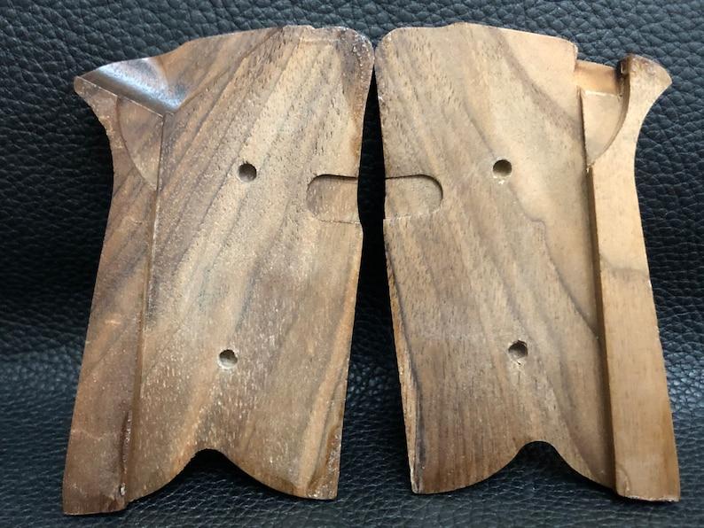 RUGER P85 P89 P90 P91 walnut wood grips set handmade